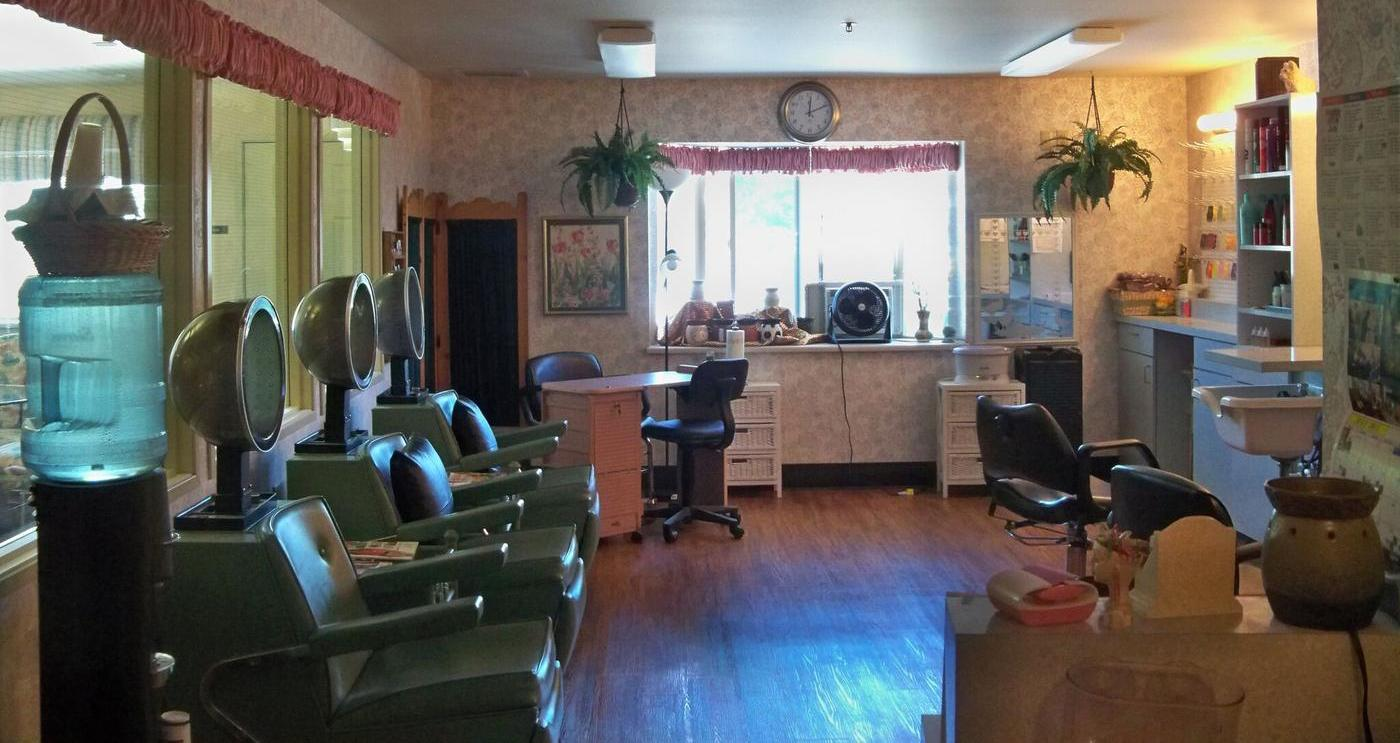 Beauty shop interiors